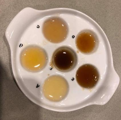 Different local honeys
