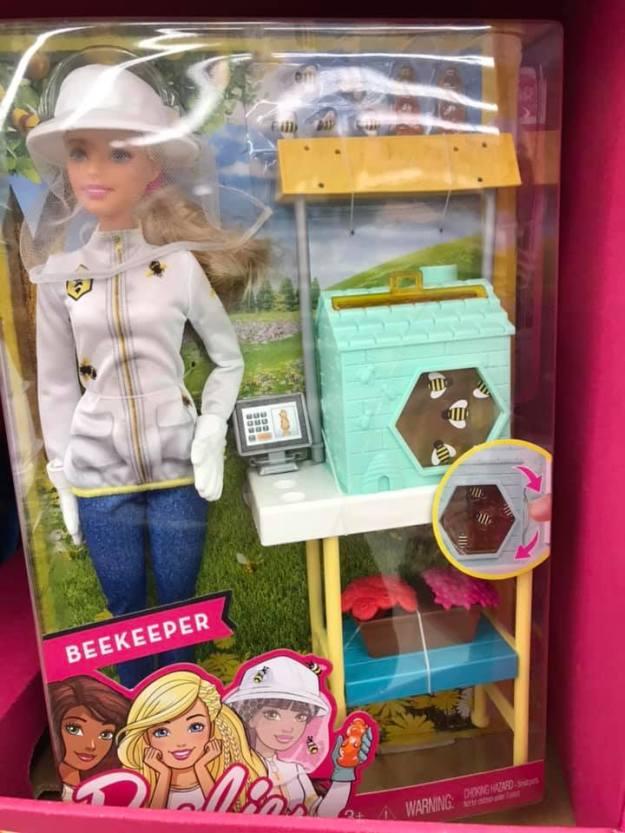 Beekeeper Barbie
